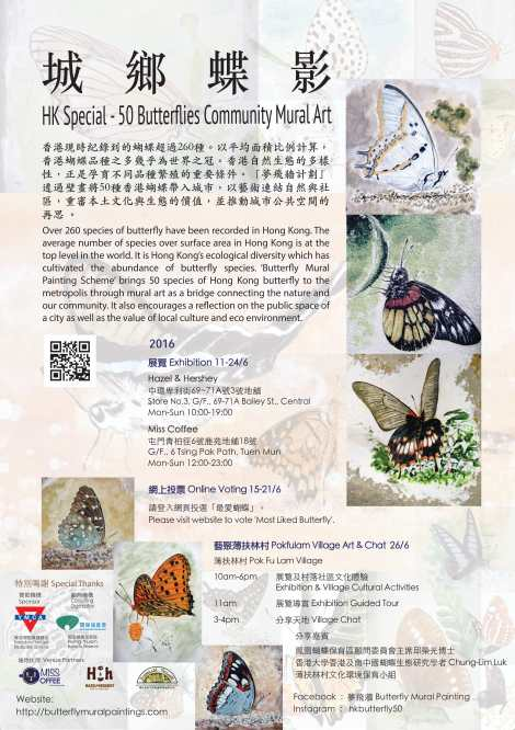 Butterfly Exhibition Poster